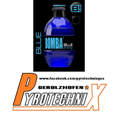 Bomba Energy Drink Blue