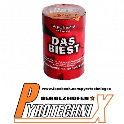 """""""Das Biest"""" Fontäne von Pyrotrade"""