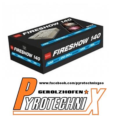 Gaoo Fireshow 140 Premium Verbundfeuerwerk