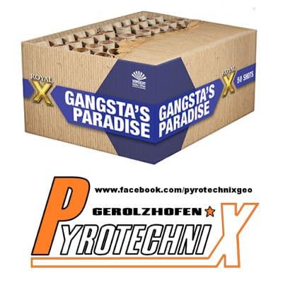 Lesli Gangsta's Paradadise Verbundfeuerwerk