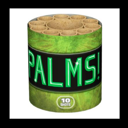 Lesli PALMS! Batteriefeuerwerk