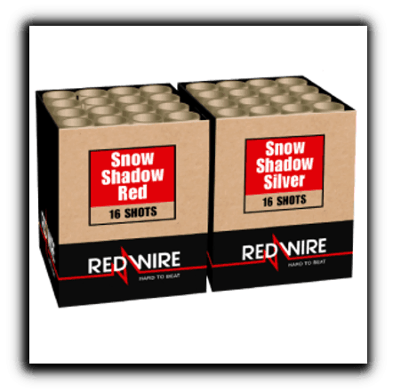 Lesli Snow Shadow Red and Silver