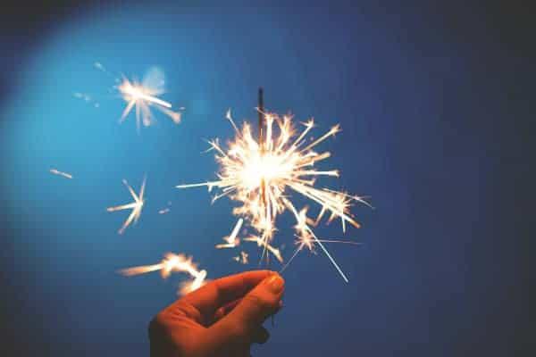 Feuerwerk Sicherheit