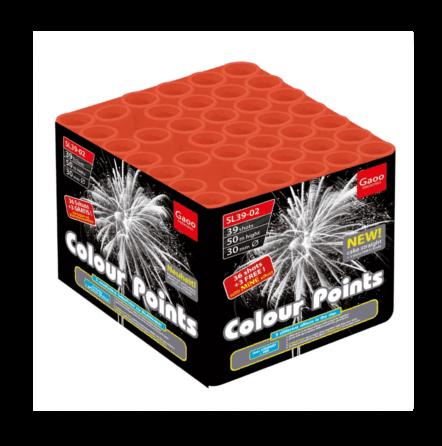 Gaoo Colour Points F3 Batteriefeuerwerk
