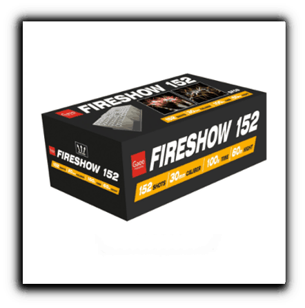 Gaoo Fireshow 152 Verbundfeuerwerk