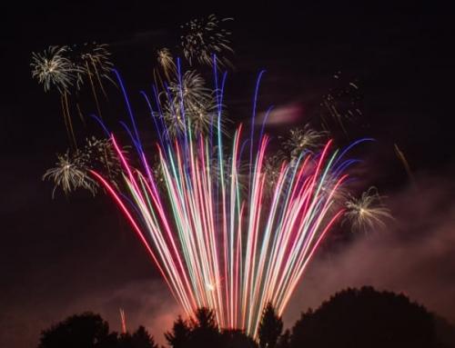 Feuerwerk zum Jubiläum der Leoni Kitzingen