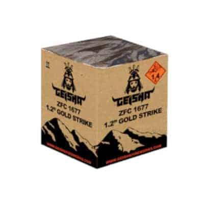 Geisha Gold Strike Batteriefeuerwerk