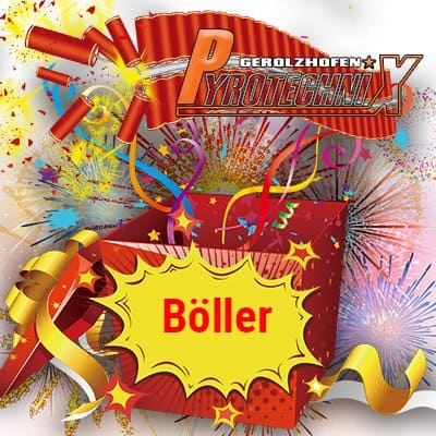 Überraschungspaket Böller