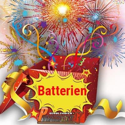 Überraschungspaket Batterien