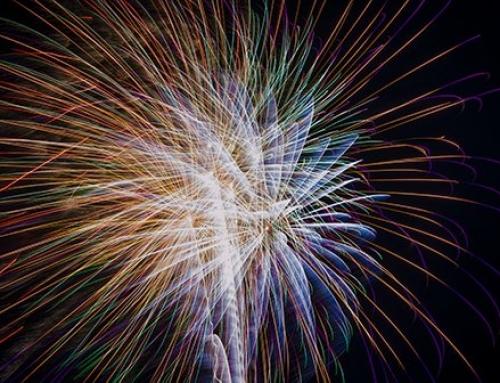 Geburtstagsfeuerwerk Unterschwappach