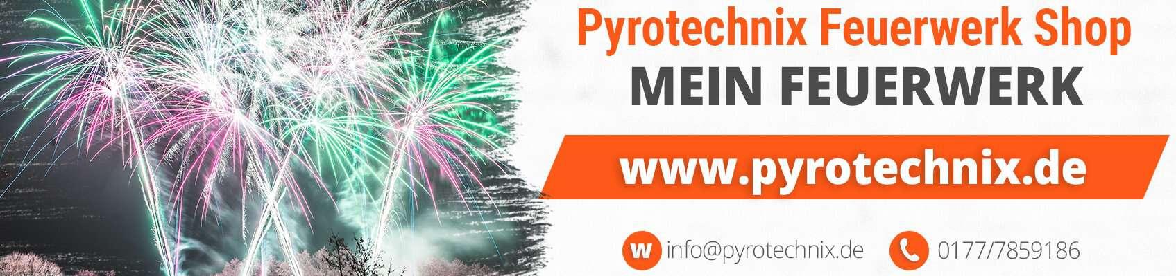 Pyrotechnix Feuerwerk Shop
