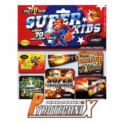 Comet Super Kids Jugendsortiment