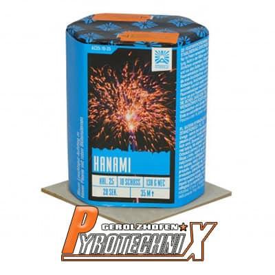 Argento Hanami Batteriefeuerwerk