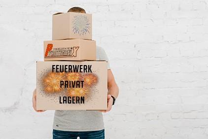 Feuerwerk privat lagern