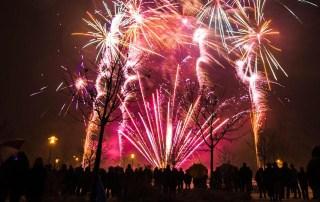 Feuerwerksvorführung 2019 Gerolzhofen
