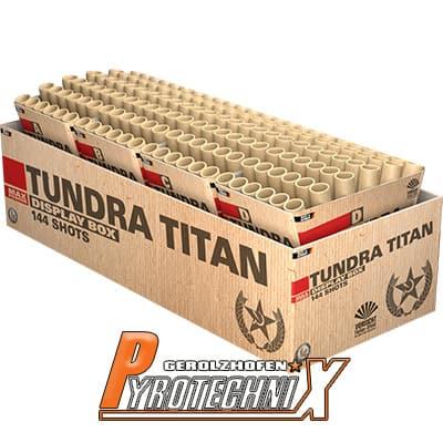 Lesli Tundra Titan Verbundfeuerwerk