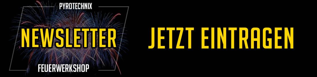 Pyrotechnix Feuerwerk Newsletter