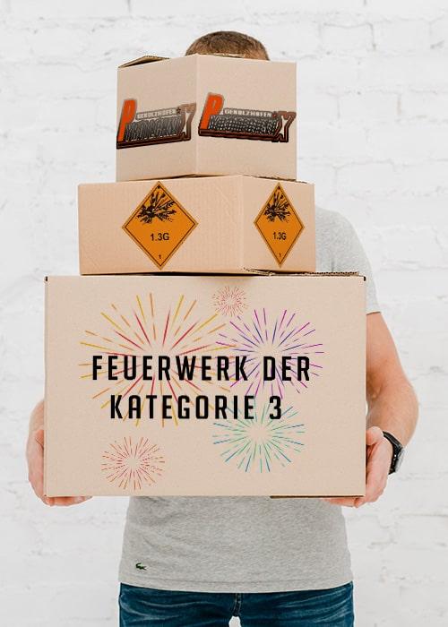 Feuerwerk Kategorie F3