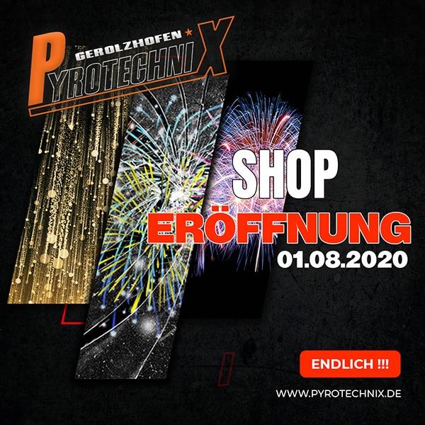 Pyrotechnix Shop Eröffnung 2020
