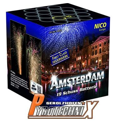 Nico Amsterdam Batterie 19 Schuss