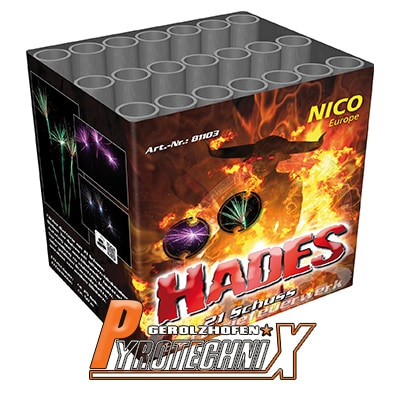 Nico Hades Fächerbatterie