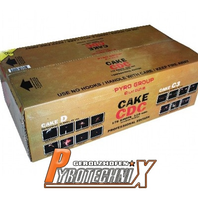 Pyrotrade Cake CDC Verbundfeuerwerk