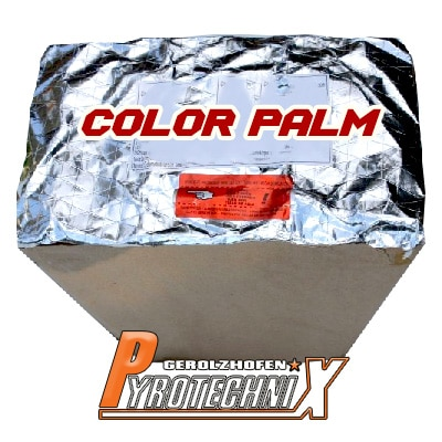 Pyrotrade Color Palm Fächerbatterie