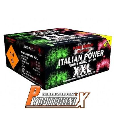 Pyrotrade Italian Power XXL Verbundfeuerwerk