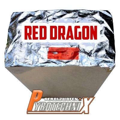 Pyrotrade Red Dragon Fächerbatterie