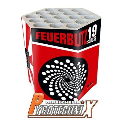 Zena Feuerblitz Batteriefeuerwerk
