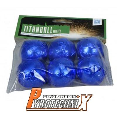 Funke Titanball mittel Cracklingbälle