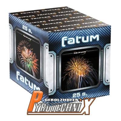 Triplex Fatum Feuerwerksbatterie