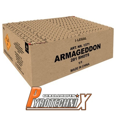 Broekhoff Armageddon Verbundfeuerwerk