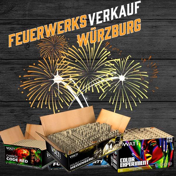 Feuerwerksverkauf Hausen bei Würzburg